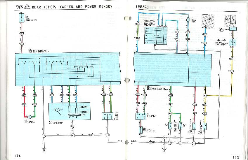 I Scanned The Electrical Wiring Diagram Book